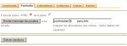 Envio de boletines con PHP List