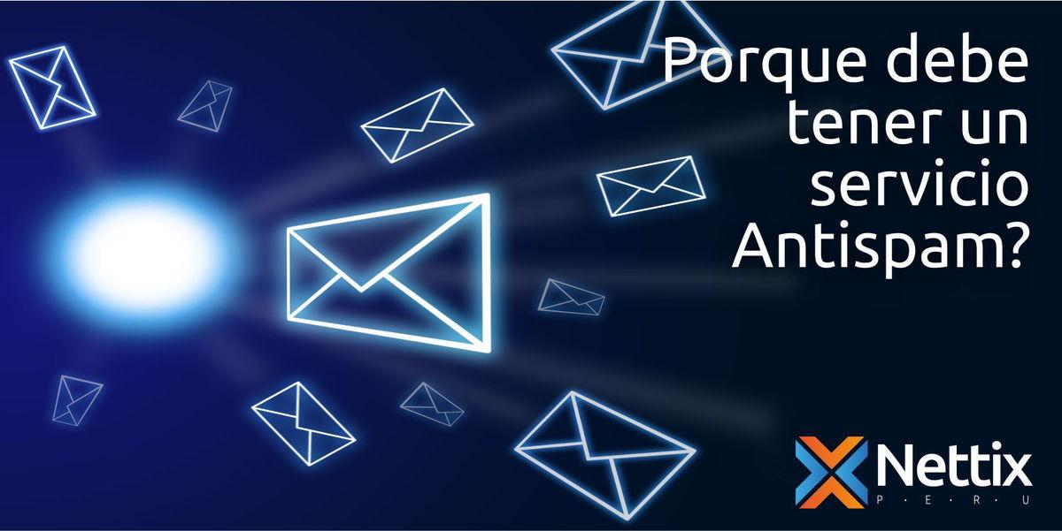 Porque debe tener un servicio antispam?