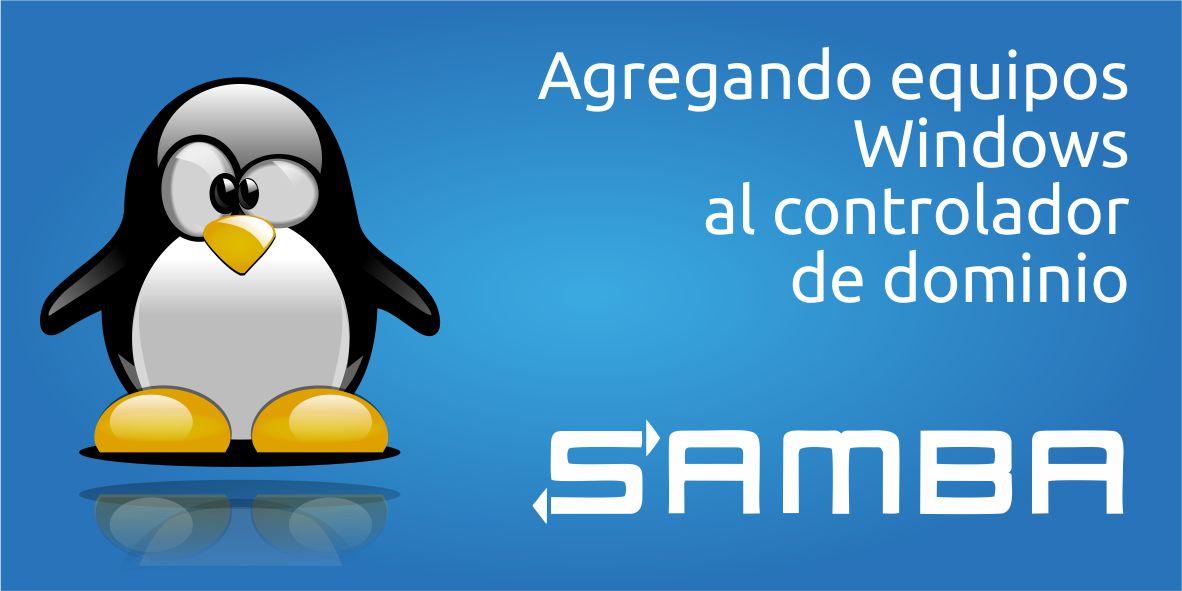 Como ingresar usuarios al controlador de dominio Samba