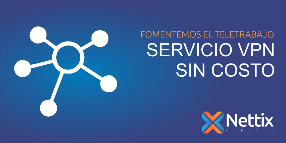 Servicio VPN sin costo por Marzo