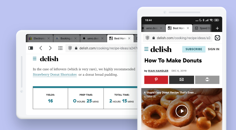 Vivaldi, un navegador rápido y con varias funcionalidades