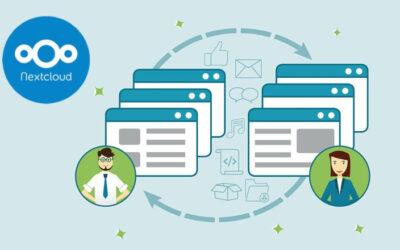 Todo sobre compartir enviar o recibir archivos gigantes por internet usando Nextcloud